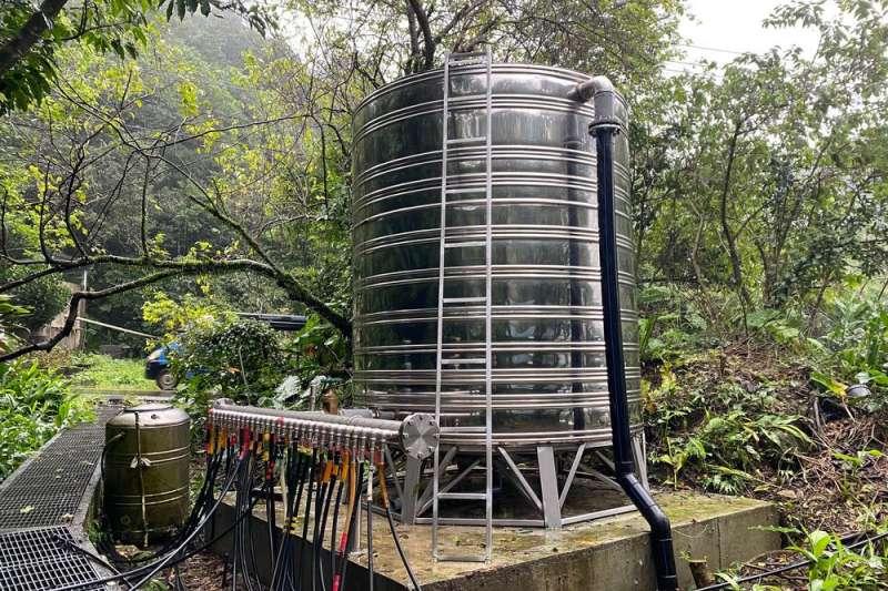 新北水利局補助瑞芳區公所約700萬元經費,進行相關簡易自來水的改善工程,解決民生用水問題。(圖/新北市水利局提供)