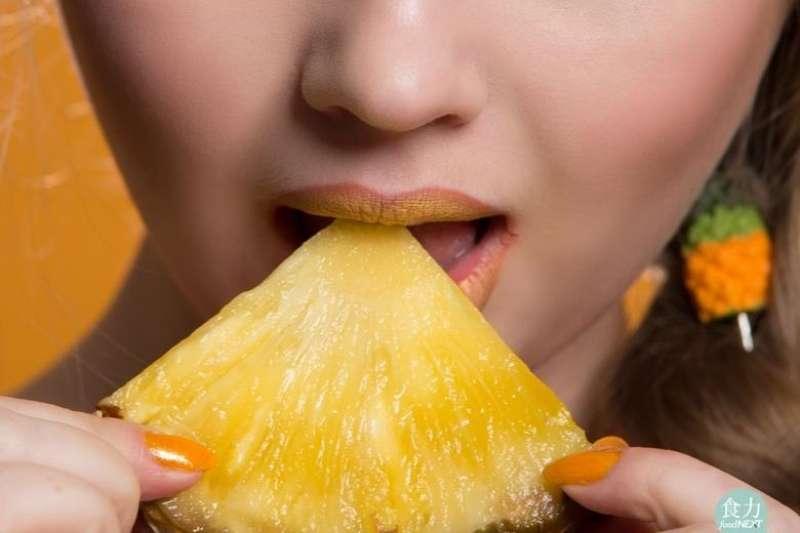 鳳梨為什麼會刮舌?原來跟它內含的特殊酵素有關!(圖/取自食力foodNEXT)