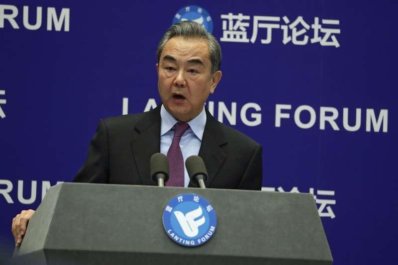 中國國務委員兼外交部長王毅(見圖)7日在中國兩會外長記者會上表示,中國政府在台灣問題上沒有妥協餘地,沒有退讓空間。(資料照,美聯社)