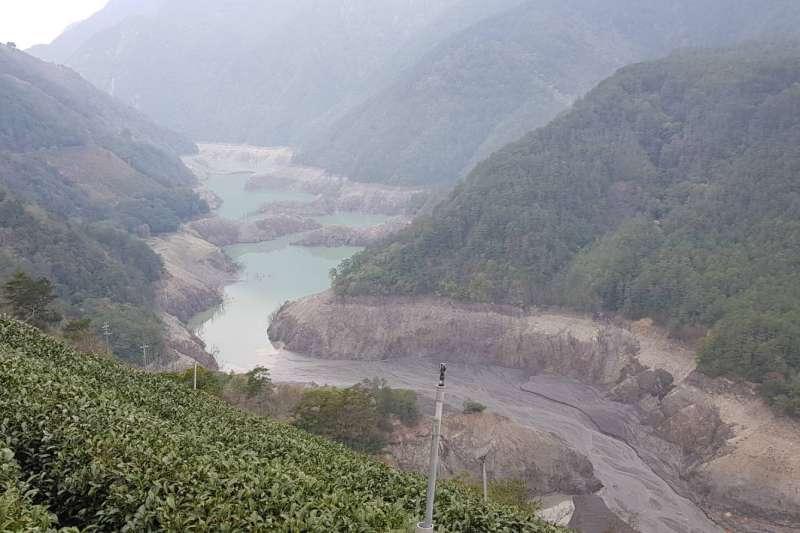 德基水庫 缺水 梅雨 自來水 停水 (圖/讀者提供)