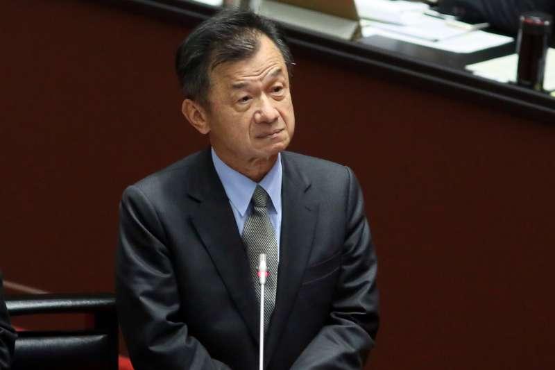 20210309-陸委會主委邱太三9日至立法院備詢 。(柯承惠攝)