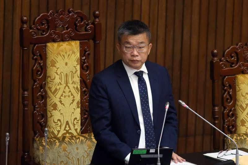 20210309-立法院副院長蔡其昌 。(柯承惠攝)