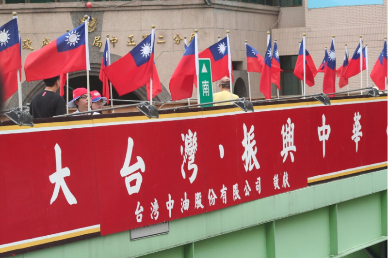中華民國存在的目的,就是要讓世人知道中國人也能與西方人一樣過上真正民主自由的生活。(作者許劍虹提供)