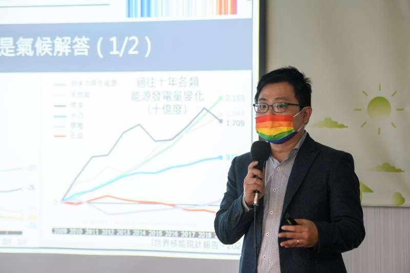 20210310-台灣環境規劃協會理事長趙家緯。(民進黨提供)