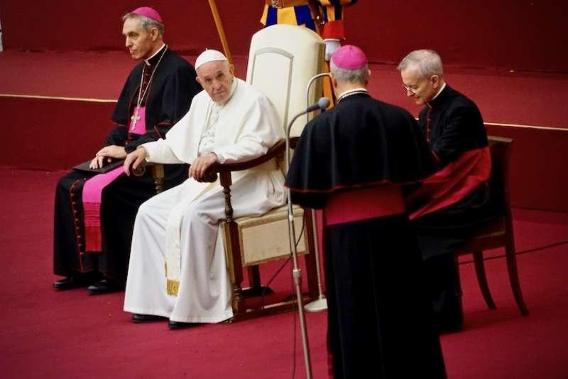 教宗之所在即聖座之所在(曾廣儀攝)