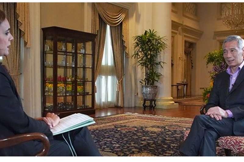 新加坡總理李顯龍(Lee Hsien Loong)接受BBC專訪(BBC)