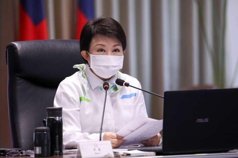 台中市長盧秀燕最近因為沒頭沒腦的「台中核四」,被民進黨市議員圍攻。(圖/台中市政府)