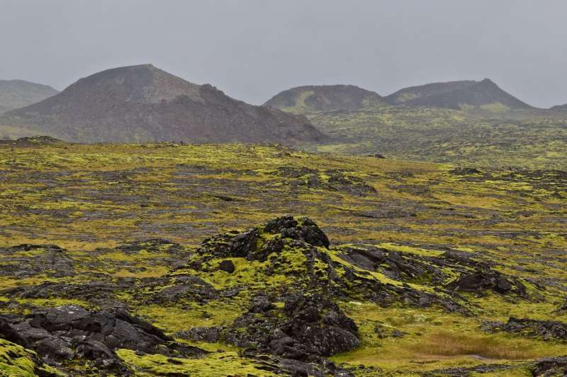 冰島西南角近來地震頻繁,2月24日至今發生四萬餘起地震。(截自推特)