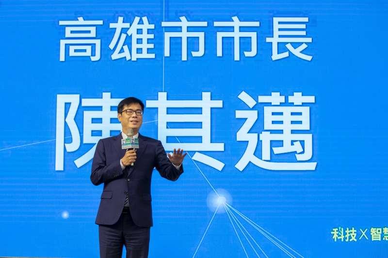 市長陳其邁指出橋頭科學園區是近3年全台最大的科學園區土地,針對投資廠商,市府也將提供最好的服務。(圖/高雄市政府提供)