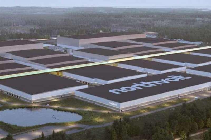 瑞典電池開發製造商Northvolt(圖片來源:NORTHVOLT)