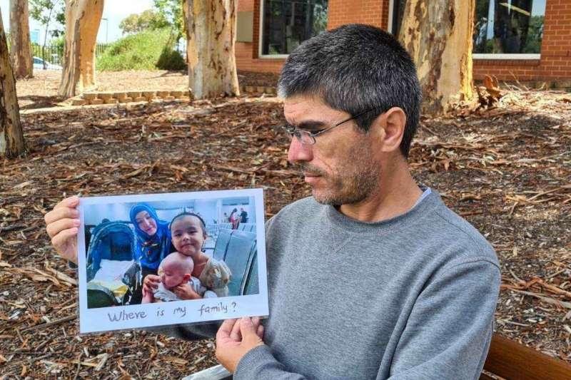 馬穆提已經五年無法見到他的家人,也不敢回到自己的故鄉。(翻攝馬穆提推特)