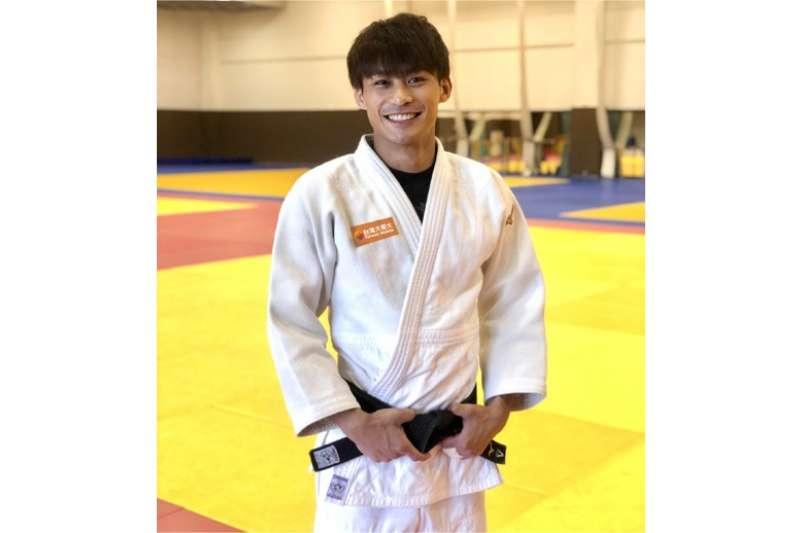 世界排名第九、台灣排名第一的柔道選手楊勇緯。(圖/台灣大哥大提供)