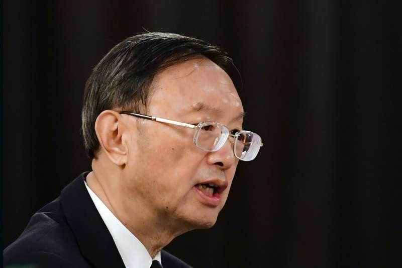 中共中央外事工作委員會辦公室主任楊潔篪(圖)直斥美界談判代表,「中國人不吃這一套」。(美聯社)