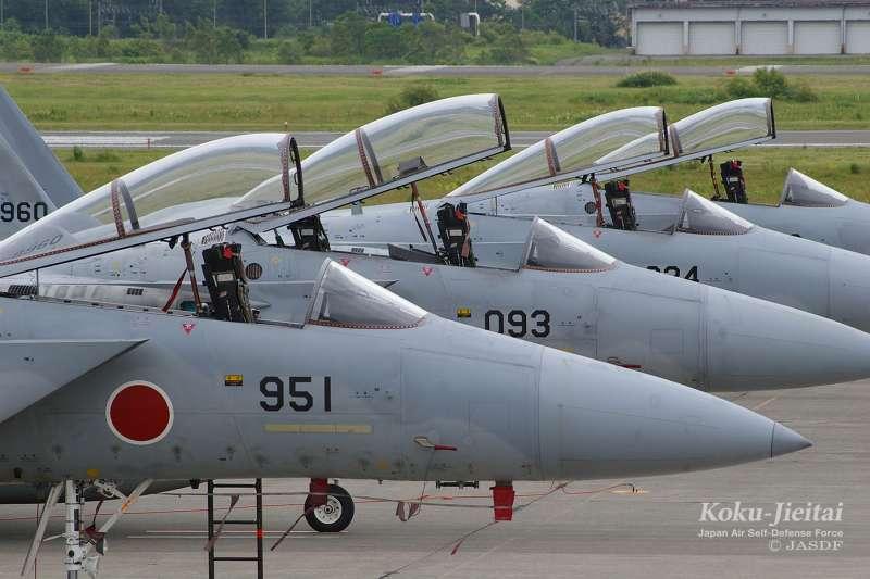 日本航空自衛隊主力機種:F-15J/DJ。(航空自衛隊官網)