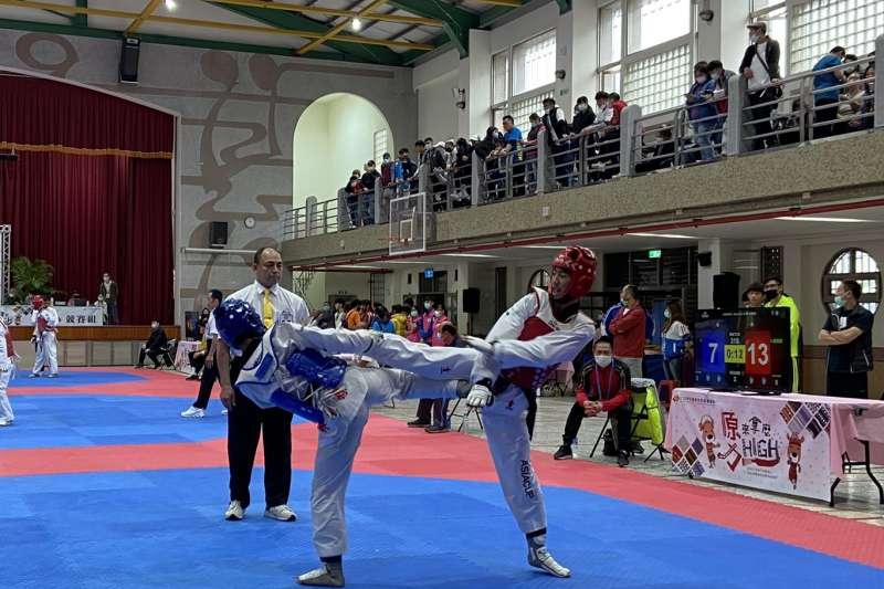 桃園市這次在全原運會獎牌大豐收,獎牌數三連霸,尤其以跆拳道項目最亮眼。 (圖/桃園市政府原民局提供)