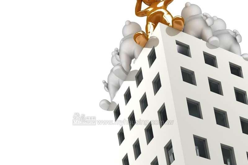 重稅導致成交量縮,但若市場購屋需求不變,反而容易助漲房價。 (圖/住展房屋網)