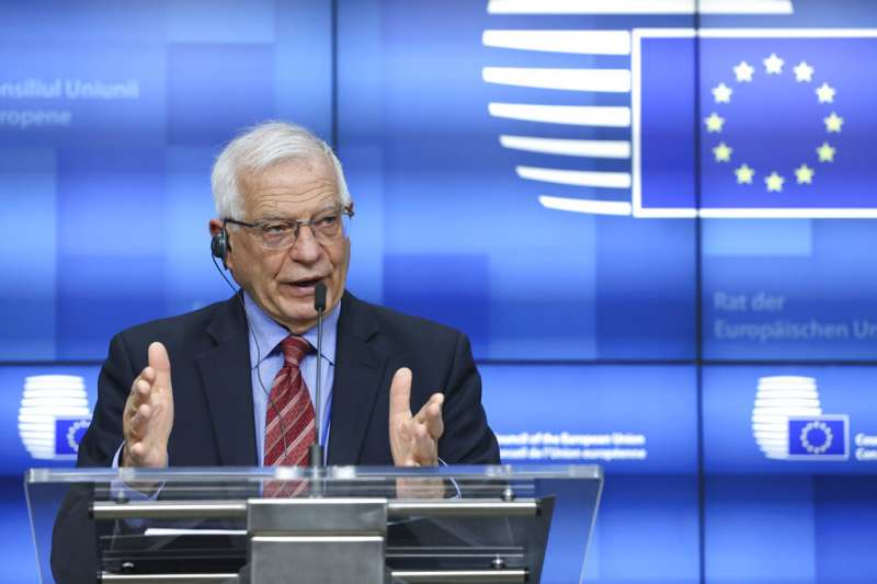 有「歐盟外長」之稱的歐盟外交暨安全政策高級代表波瑞爾(Josep Borrell)。(美聯社)