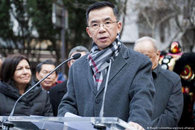 中國駐法大使盧沙野(DW)