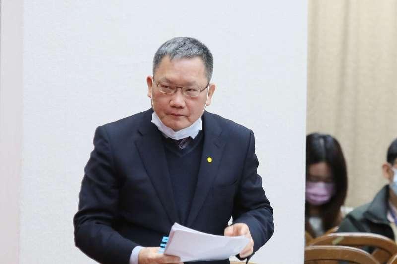 20210324-財政部長蘇建榮24日至立院財委會備詢。(柯承惠攝)
