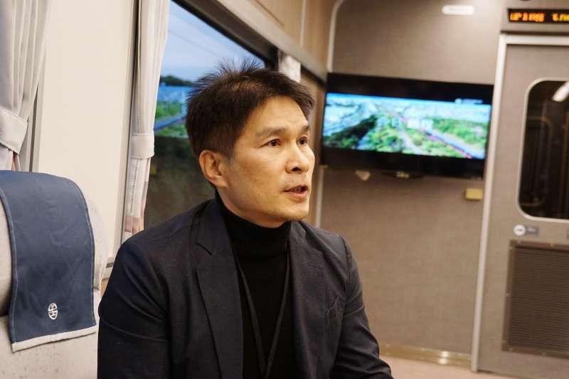 20210325-雄獅品牌策略總經理游國珍受訪。(盧逸峰攝)