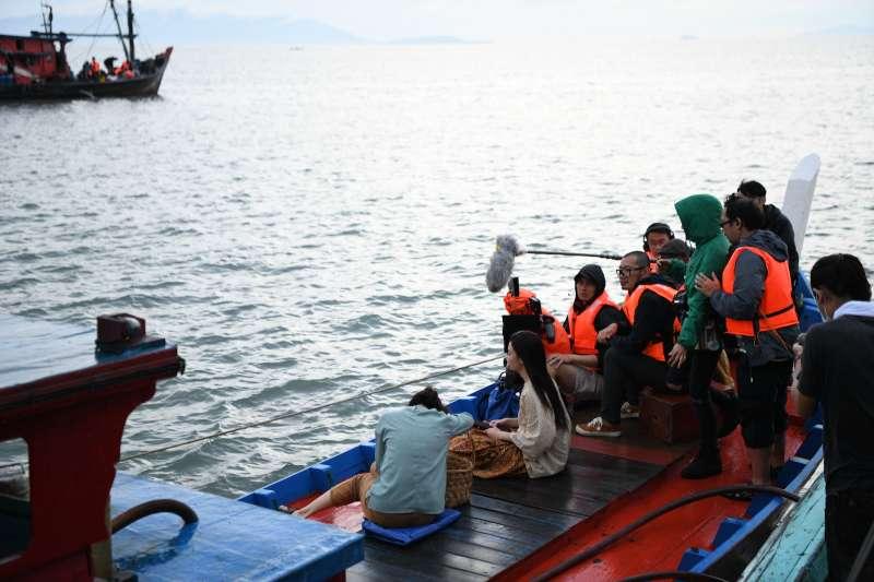 馬來西亞導演張吉安作品《南巫》,拍攝工作照。(傳影提供)