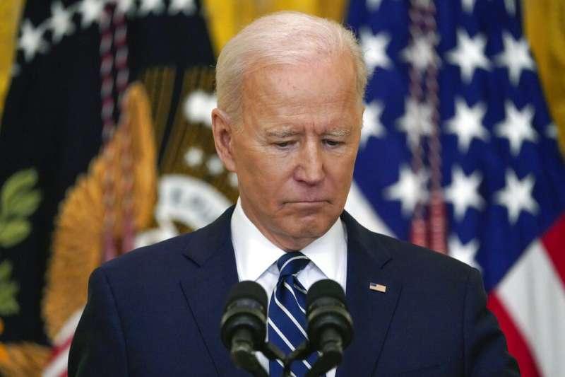 美國總統拜登認為美中之爭是21世紀的民主與專制之爭。(美聯社)