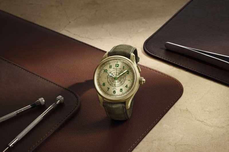 萬寶龍1858系列追針計時腕錶限量款18(圖/萬寶龍提供)