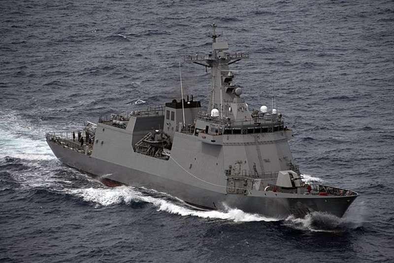 菲律賓飛彈巡防艦何塞·黎剎號(Jose Rizal,舷號FF-150)。(維基百科/公用領域)