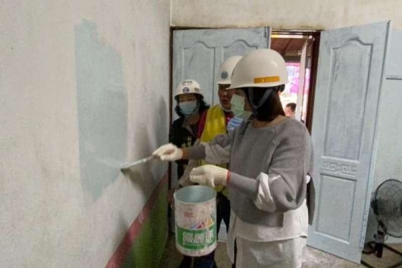 你對油漆工的印象是什麼?這個網友的分享可能讓你從此改觀!(圖/台南市政府提供)