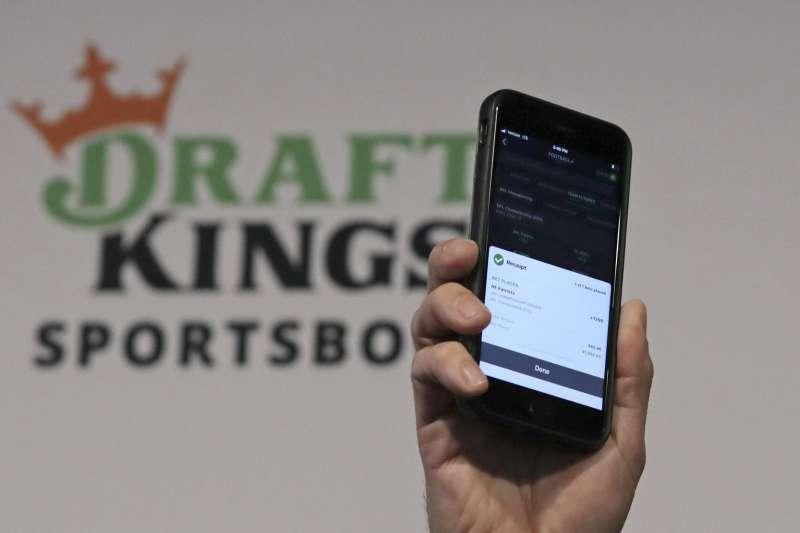 體育博弈公司DraftKings透過與SPAC合併達成上市。(AP)