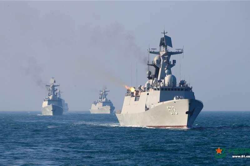中共強調將加強遠海戰略與布局,突破「重陸輕海」傳統思想,建設海上軍事力量。(資料照,取自中國軍網)