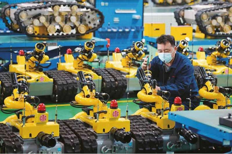 中美爭霸的主戰場在經濟,而中國崛起的經濟實力已不小覷。(新華社)