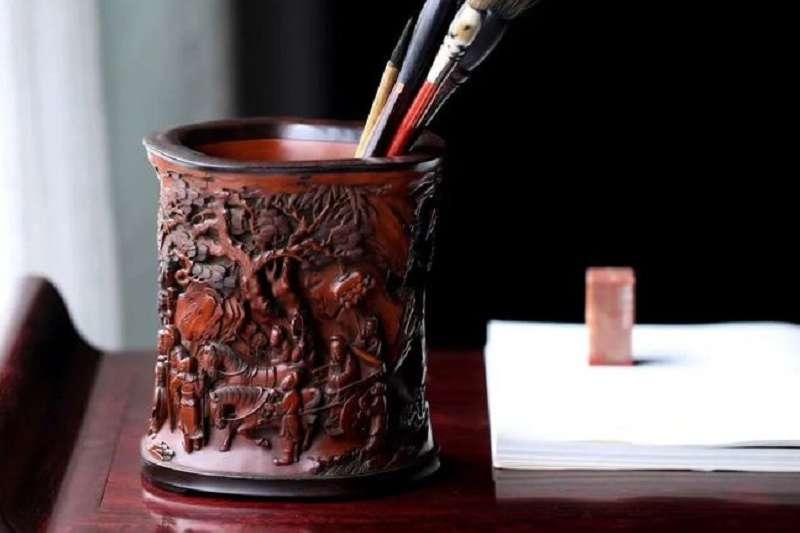 竹刻是文人特有的精緻藝術。