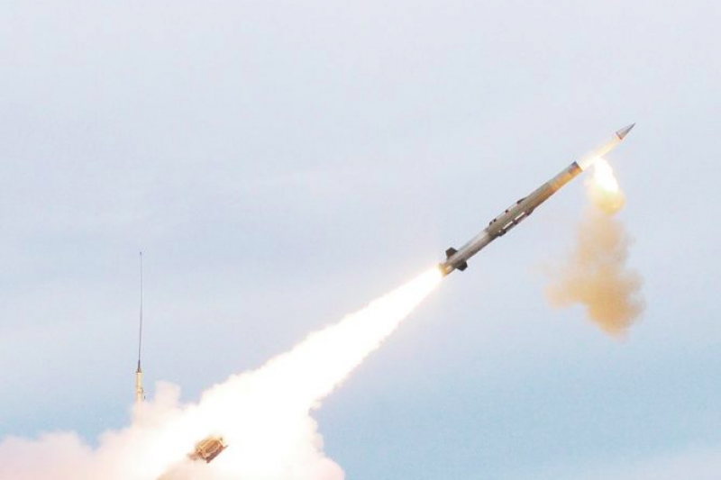 愛國者三型增程型防空飛彈(PAC-3 MSE)。(取自洛克希德馬丁官網)