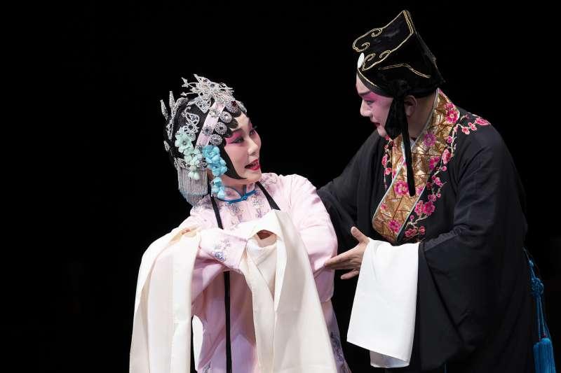 溫宇航表示,《琵琶記》是一齣十足的崑曲唱功大戲,無論生、旦都是從頭唱到尾。(蘭薰提供)