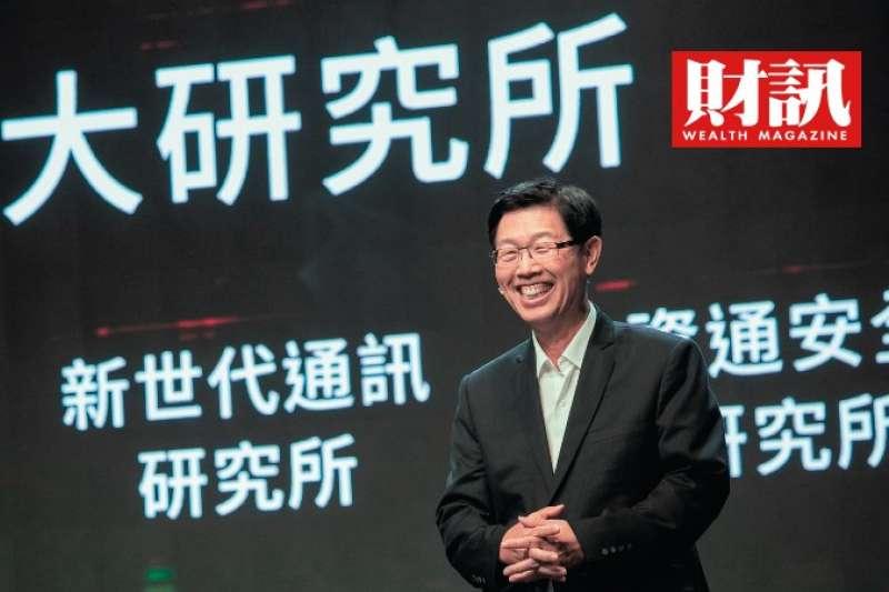 劉揚偉董事長領導下的鴻海能否衝高本益比?關鍵還是電動車。(財訊提供)