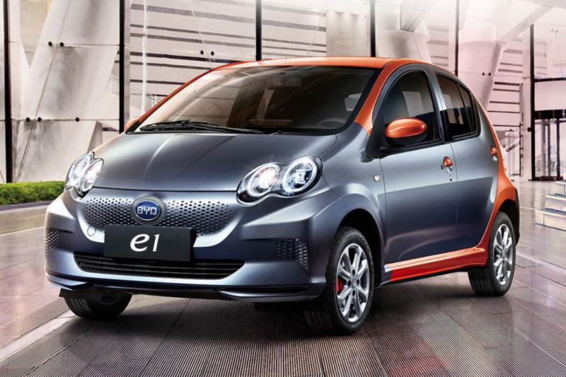 中國的電動汽車產量佔全球總產量的一半,包括這款比亞迪漢電動車。(圖片來源:比亞迪官網)