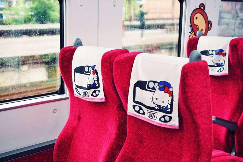 20210402-台鐵太魯閣號2日出軌釀51死,該列車編組曾是Hello Kitty彩繪列車,備受旅客喜愛。(盧逸峰攝)