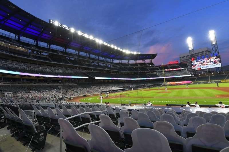 美國職棒大聯盟MLB宣布,原訂在喬治亞州亞特蘭大舉辦的明星賽,將改到其他地點進行。(AP)