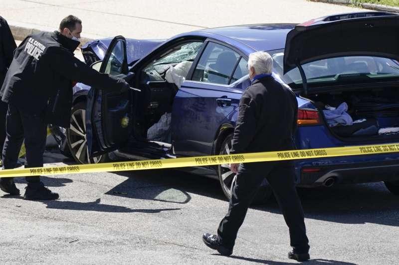 2021年4月2日,美國國會山莊發生駕車衝撞事件(AP)