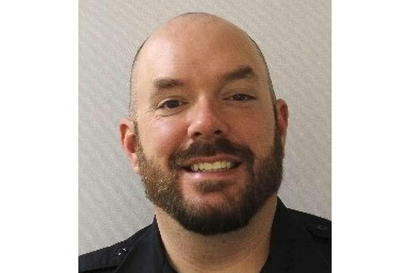"""2021年4月2日,美國國會山莊發生駕車衝撞事件,警員伊凡斯(William """"Billy"""" Evans)不幸殉職(AP)"""