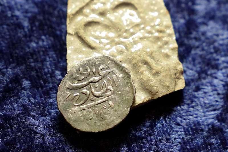 美國新英格蘭地區發現的17世紀阿拉伯錢幣(AP)