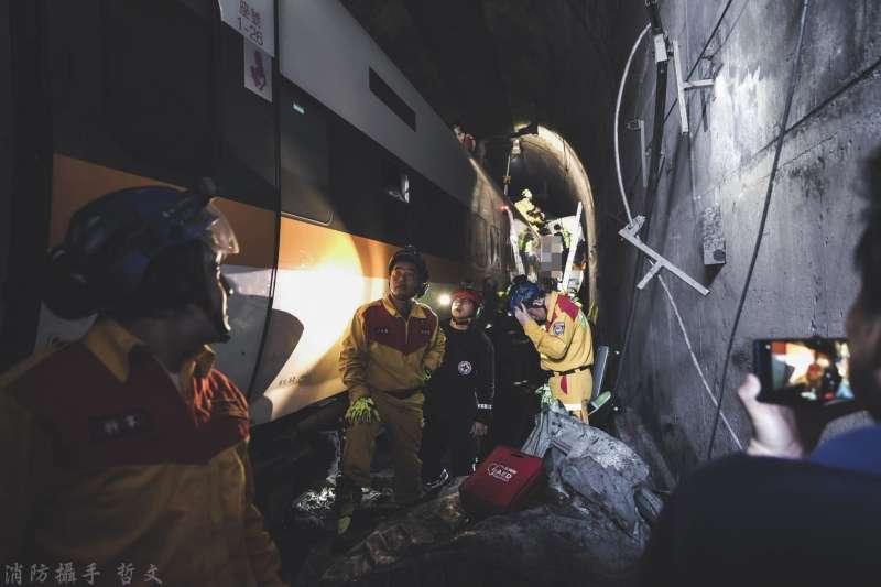 台北市土木建築學會理事長余烈6日以2個親身經歷,揭露台鐵內部的「李義祥們」,如何讓有關係的人輕鬆拿下工程。(資料照,取自花蓮縣消防局)