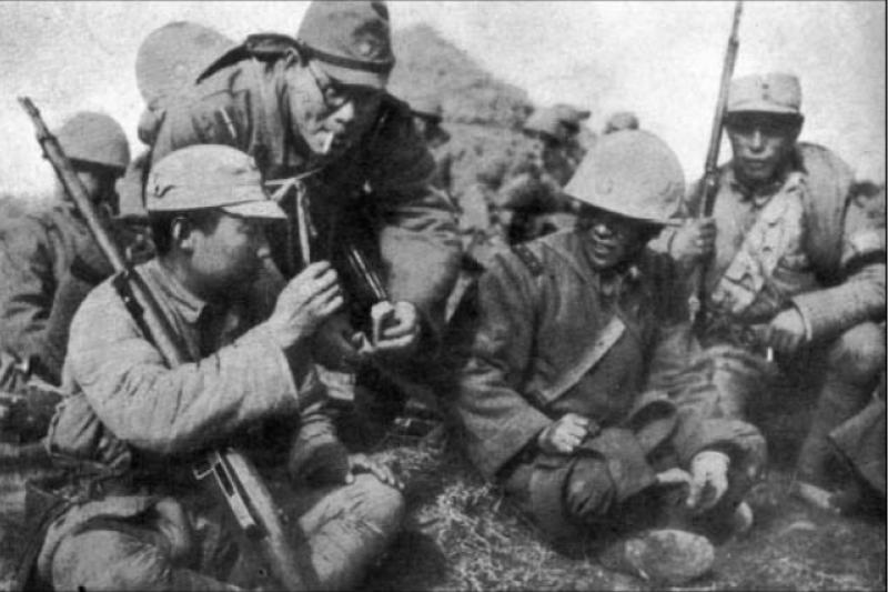 日本「大東亞共榮圈」的宣傳,確實吸引了不少雜牌部隊投效汪精衛政權,不過他們的忠誠度其實不高。(許劍虹提供)