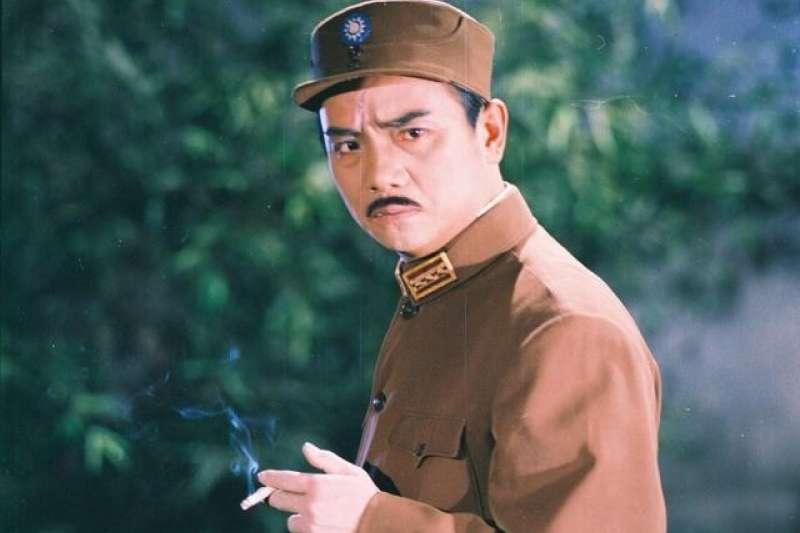 圖為《沙家浜》中的反派刁德一。事實上刁德一的原型人物後人有隨蔣緯國將軍來到台灣,現在還是某個深藍團體的創始元老,歷史有時候非常諷刺。(許劍虹提供)