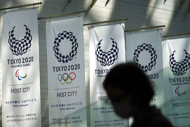 2020東京奧運雖然延到2021年舉行,但究竟能不能順利登場,仍受到各界矚目。(美聯社)
