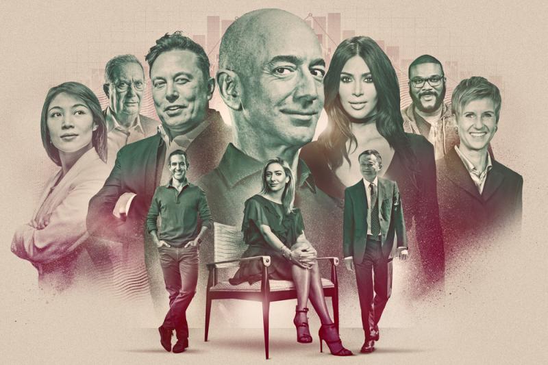 富比世公布2021年富豪榜,亞馬遜公司創辦人貝佐斯連續第4年榮登榜首(取自富比世官網)