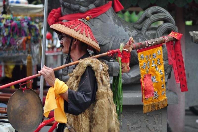 媽祖遶境是台灣民間盛大的傳統慶典。(圖/取自king.f@flickr)