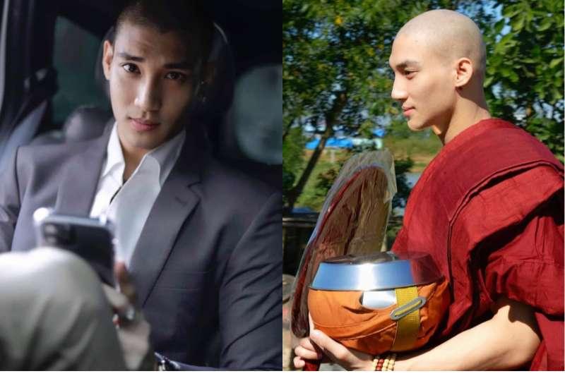緬甸男模、前旅遊大使Paing Takhon傳出被捕消息。(翻攝Paing Takhon IG)