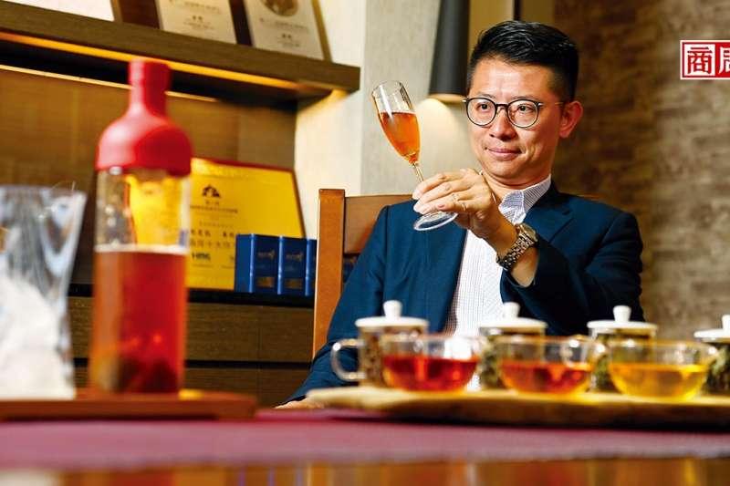 杜蒼林接班後創立華剛茶業,做品牌也攻零售。(圖片來源/商業周刊,程思迪攝)